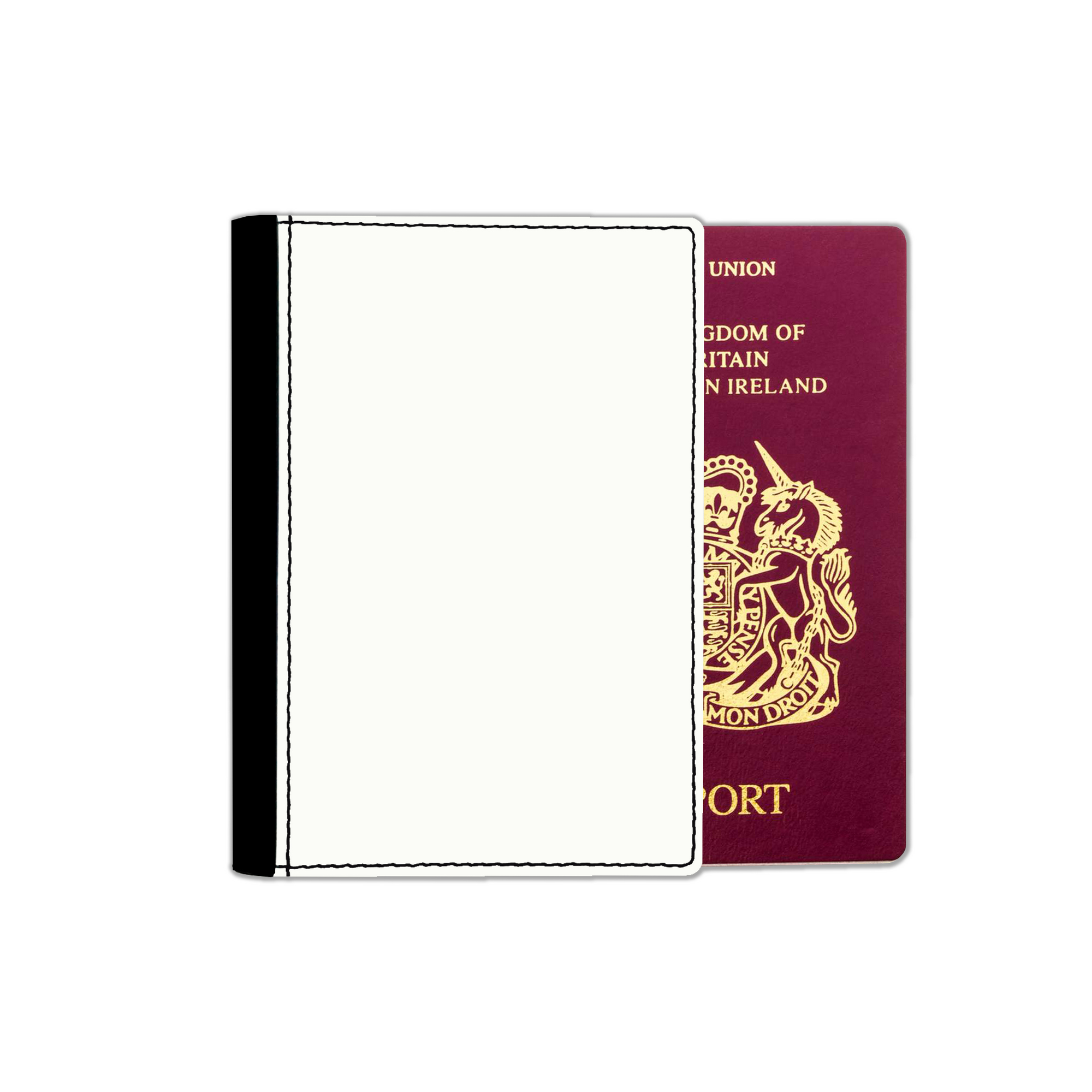 Faux leather Passport covers are a great way to keep your travel documents neat and tidy, and always ready for inspection.